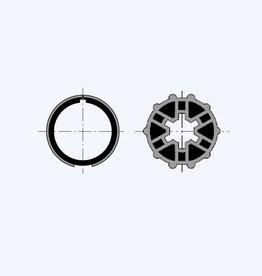 Simu Adaptieset voor as Ø 40x1 mm voor Somfy LT40 & Simu T3.5