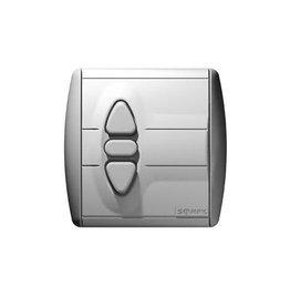 Somfy Inbouw drukknop Inis Uno met automatisch nulpunt