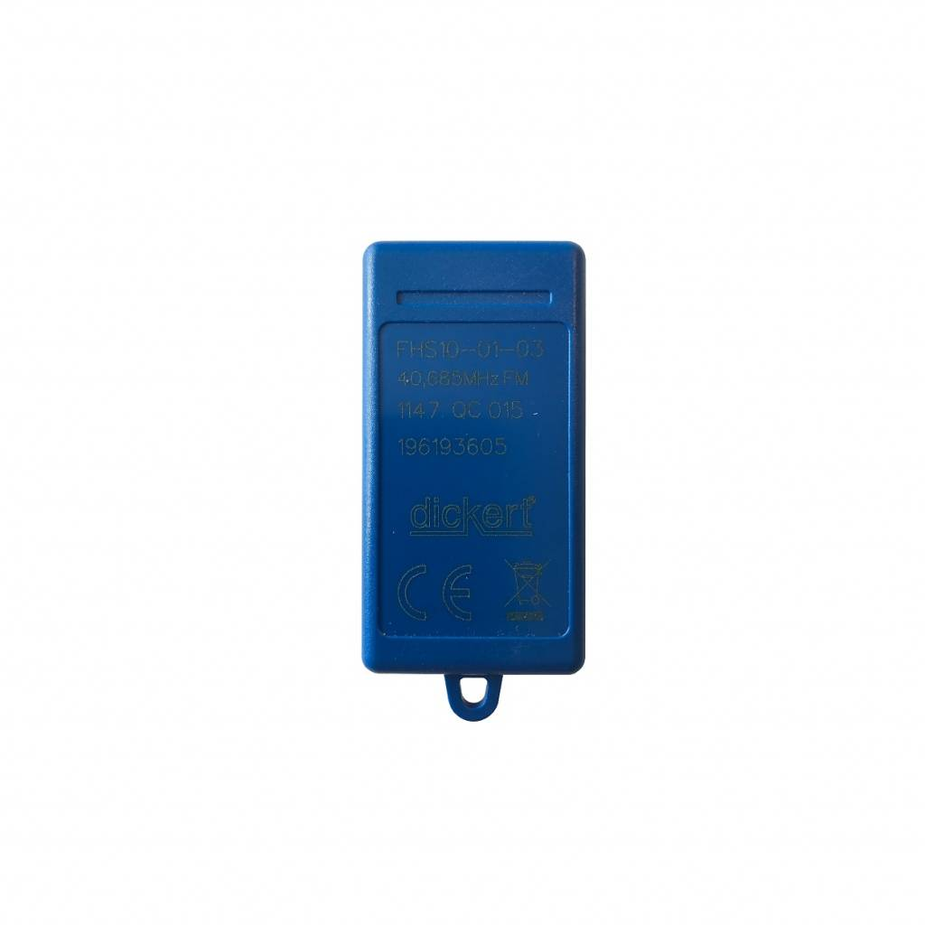 Becker Handzender 1-kanaals Mini - 40 MHz