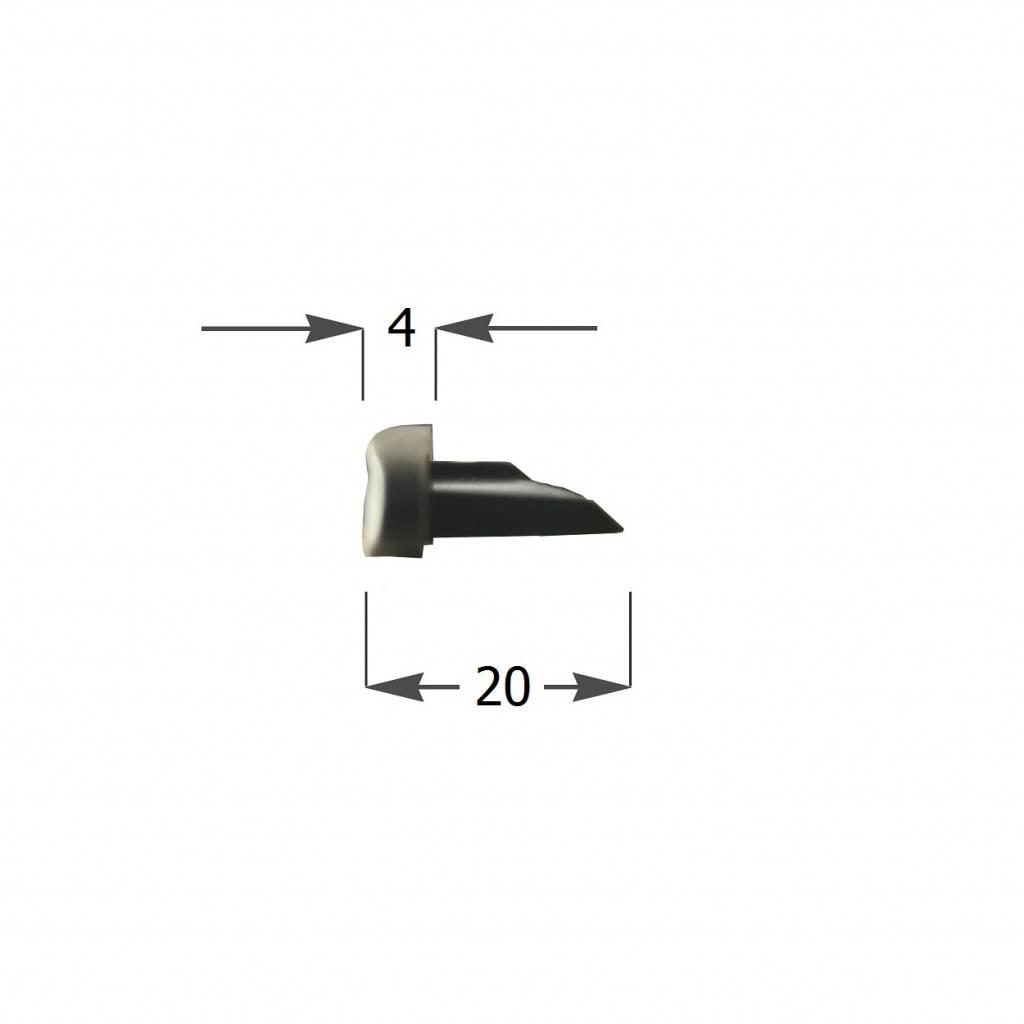 DRFX Kunststof arreteerkapje voor Alutech AR55