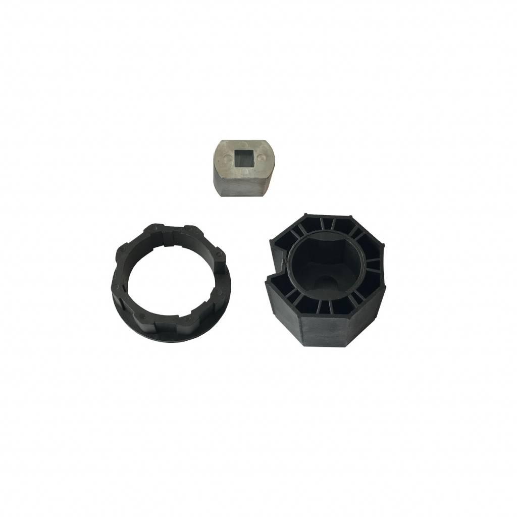Brel Adaptieset EV 45 mm - as 8 kant 60 mm