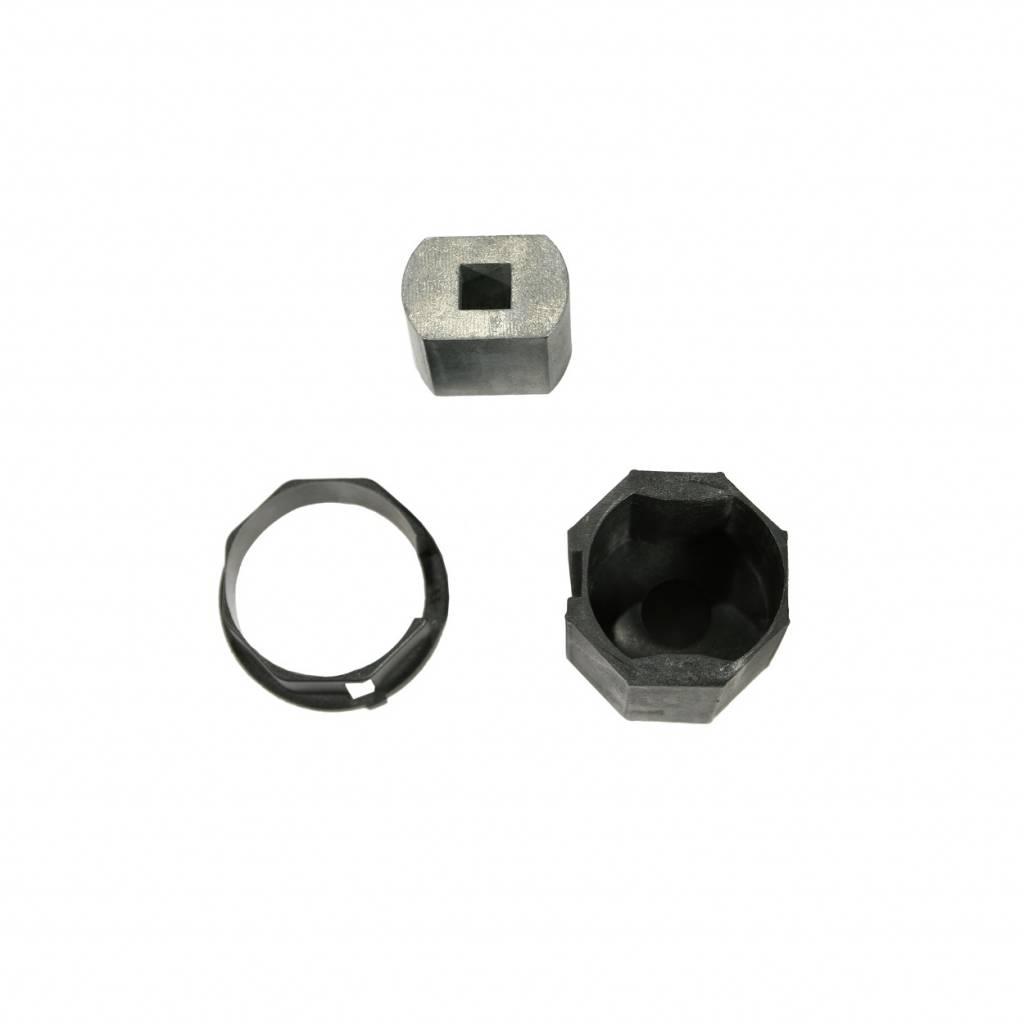 Brel Adaptieset EV 35 mm - as 8 kant 40 mm