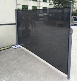 Windscherm transpa 3 x 1,8 meter