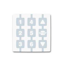 Nice Handzender Niceway WM006G 6-kanaals