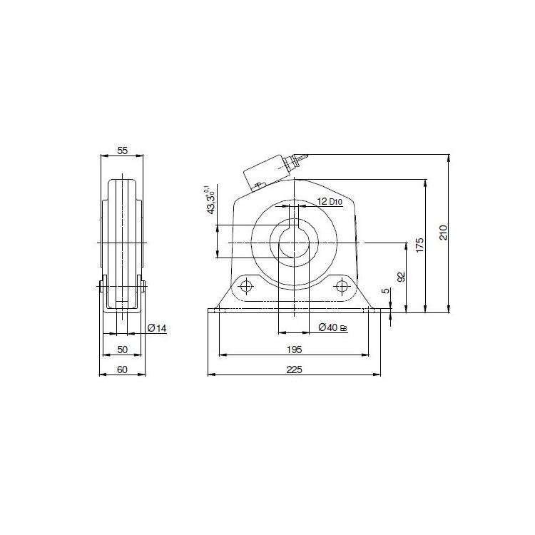 GMF Afrolbeveiliging/vallager FV 60