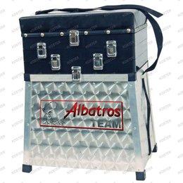 Albatros Zitmand Aluminium 2 Ladig-ABS