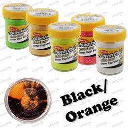 Berkley PowerBait Glitter Black/Orange
