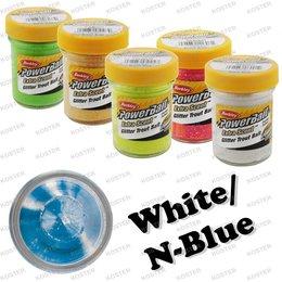 Berkley PowerBait Glitter Blue Neon/White