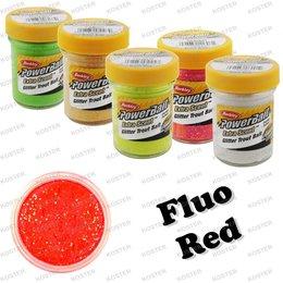 Berkley PowerBait Glitter Fluo Red