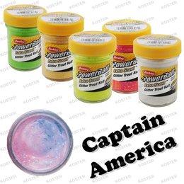 Berkley PowerBait Glitter Captain America