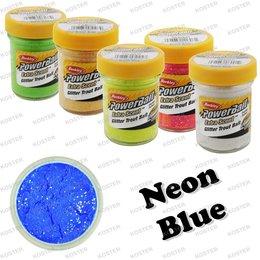 Berkley PowerBait Glitter Blue Neon