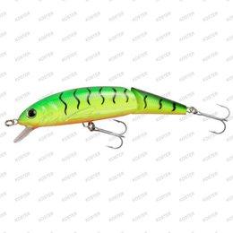 ABU Garcia Jointed Tormentor Floating Tiger Actie: Drijvend, Kleur: Tiger, Lengte: 11 cm., Gewicht: 20 Gram, Duikdiepte: Max. 0.8 Me