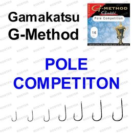 Gamakatsu G-Method Pole Competition #