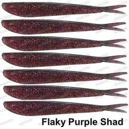 Spro Wiggly Wagger 10.5 cm Flaky Purple Shad