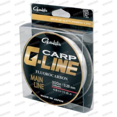 Gamakatsu G-Line Carp Fluorocarbon Natural #