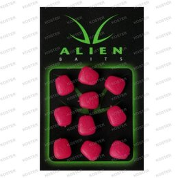 Overig Alien Baits Niteglow Corn Buoyant Fluoro Pink