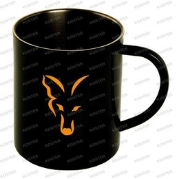 FOX Stainless Black XL Mug