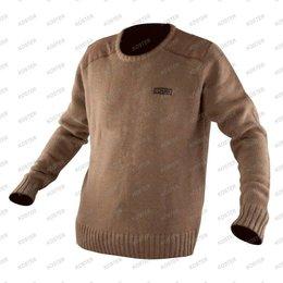 FOX CHUNK Heavy Knit Jumper Khaki
