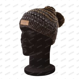 FOX CHUNK Bobble Hat Heavy Knit