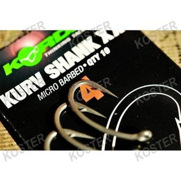 Korda Kurv Shank Hook Extreme
