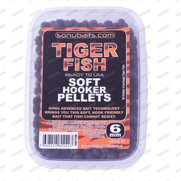 Sonubaits Soft Hooker Pellets Tiger Fish 6 mm