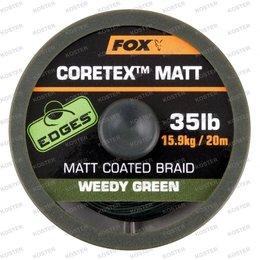 FOX EDGES Coretex Matt Weedy Green