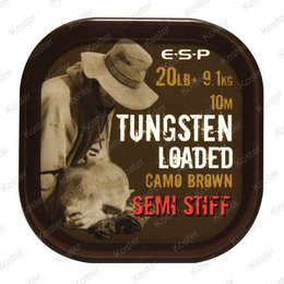 ESP Tungsten Loaded Hooklink 20LB Camo