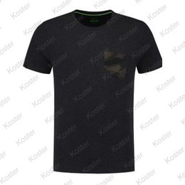 Korda Faux Pocket Tee Charcoal Shirt