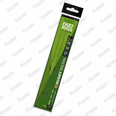 C-TEC C-Tec Fast Rigs 23cm - Muddy brown