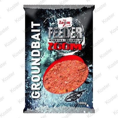 Carp Zoom Feeder Zoom Groundbaits Strawberry-Fish-Robin red