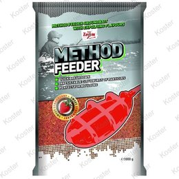Carp Zoom Method Feeder Groundbait - Strawberry Fish