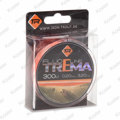 Iron Trout Trema Fluo Line Orange
