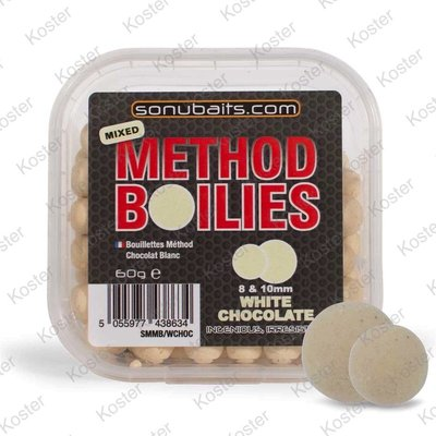 Sonubaits Mixed Method Boilies - White Chocolate
