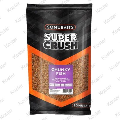 Sonubaits Chunky Fish Groundbait