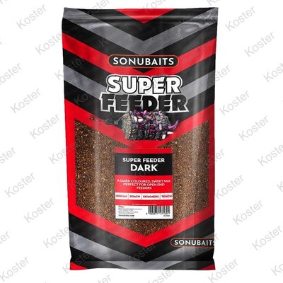Sonubaits Super Feeder Dark Groundbait