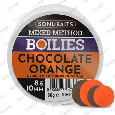 Sonubaits Mixed Method Boilies - Chocolate Orange