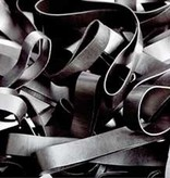 Black 04 Noir élastique Longueur 50 mm, Largeur 8 mm