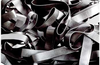 Black 11 Zwart elastiek Lengte 90 mm, Breedte 8 mm