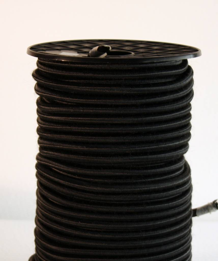 03 Cordon trampoline - 4 mm - 95 à 100 mètres - noir