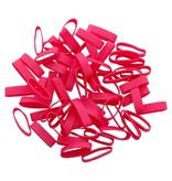 Pink 10 Rose élastique longueur 90 mm, largeur 6 mm