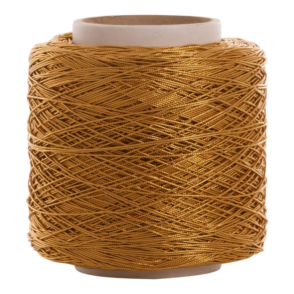 08 Koord elastiek - 1 mm - Goud