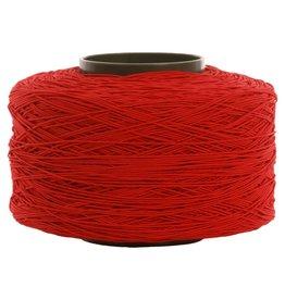 03 Kordelgummi - 1 mm - Rot