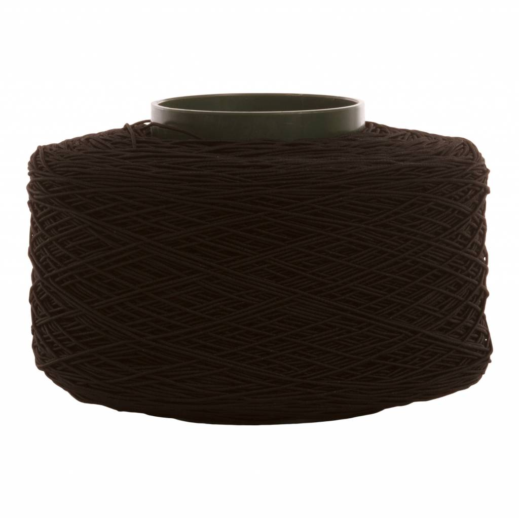 02 Cordon élastique - 2 mm - noir - 500 mètres / rouleau