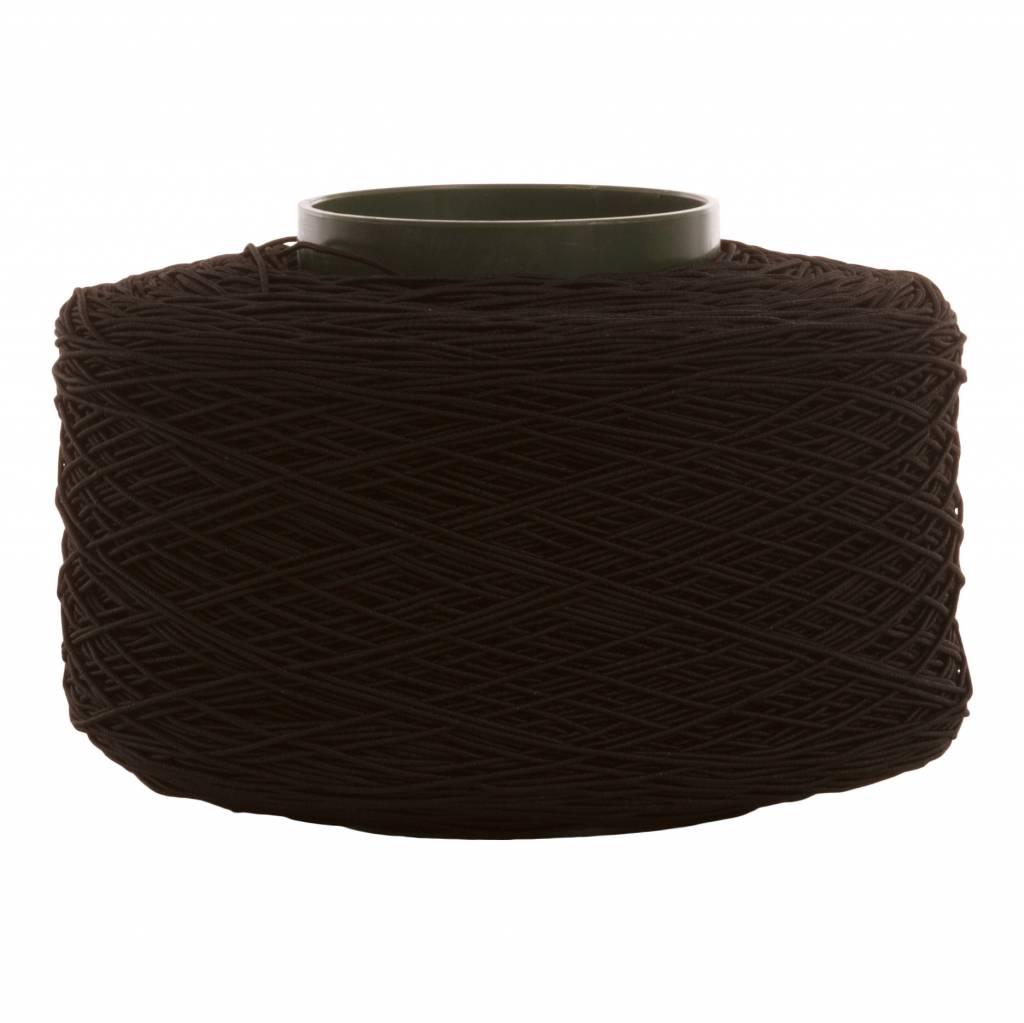01 Koord elastiek - 1 mm - zwart
