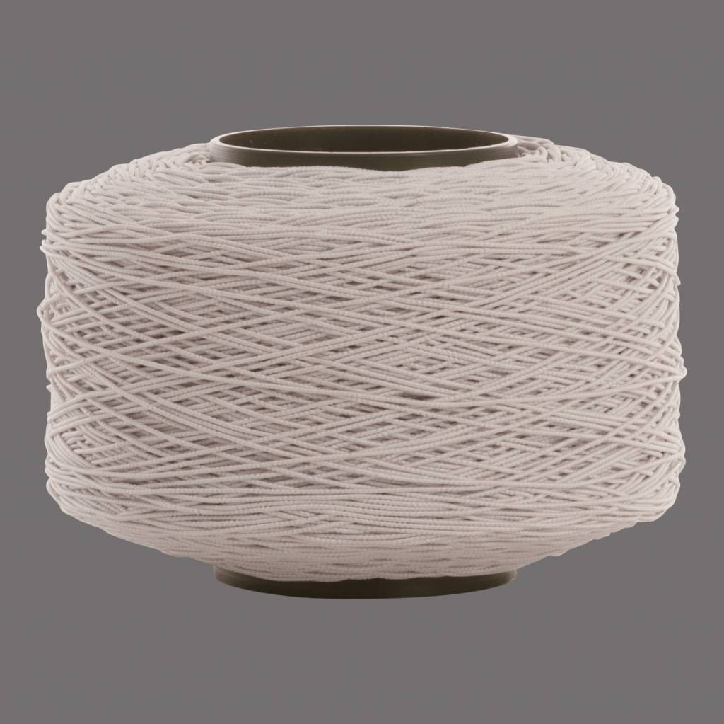 01 Elastic cord - 1 mm diameter - white