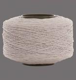 01 Kordelgummi - 1 mm - Weiß
