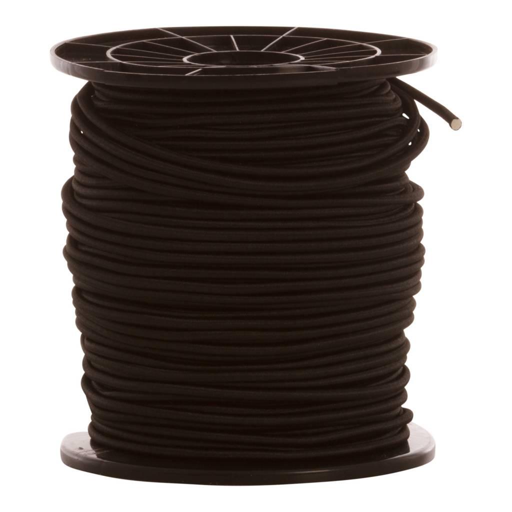 07 Trampoline koord - 6 mm - 95 tot 100 meter - zwart