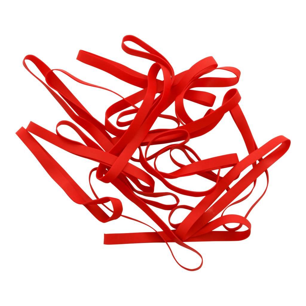 Red 02 Rood elastiek Lengte 50 mm, Breedte 4 mm
