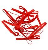 Red  03 Rouge élastique  longueur 50 mm,  largeur 6 mm