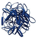 Dark blue 01 Elastique bleu foncé Longueur 50 mm, Largeur 2 mm